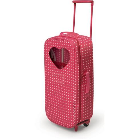 Badger Basket Trolley Doll Travel Case With Bed Target