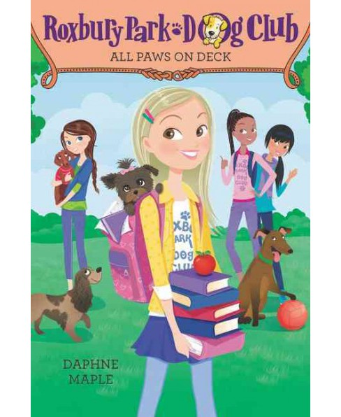 All Paws on Deck (Paperback) (Daphne Maple) - image 1 of 1