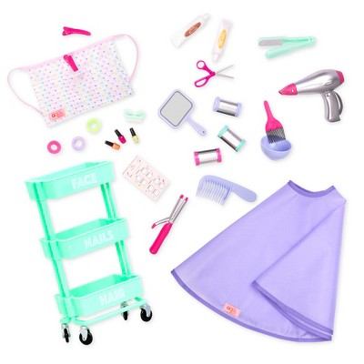 """Our Generation Berry Nice Salon Accessory Set for 18"""" Dolls"""