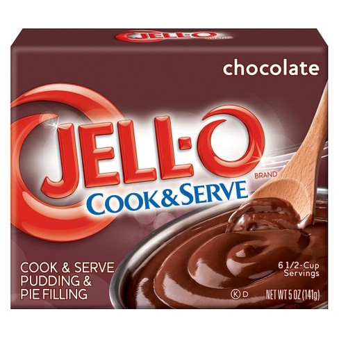 Jell-O Cook & Serve Chocolate Pudding & Pie Filling - 5oz - image 1 of 4