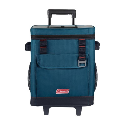 Coleman 32qt Soft Cooler with Wheels - Space Blue