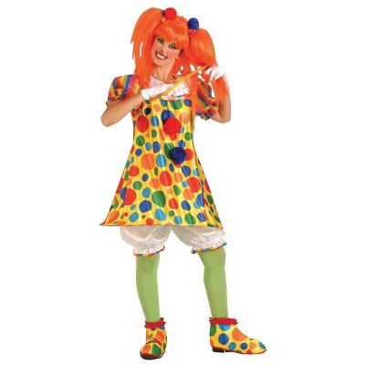 Adult Clown Giggles Halloween Costume