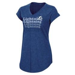 NHL Tampa Bay Lightning Women's Team Pride V-Neck T-Shirt