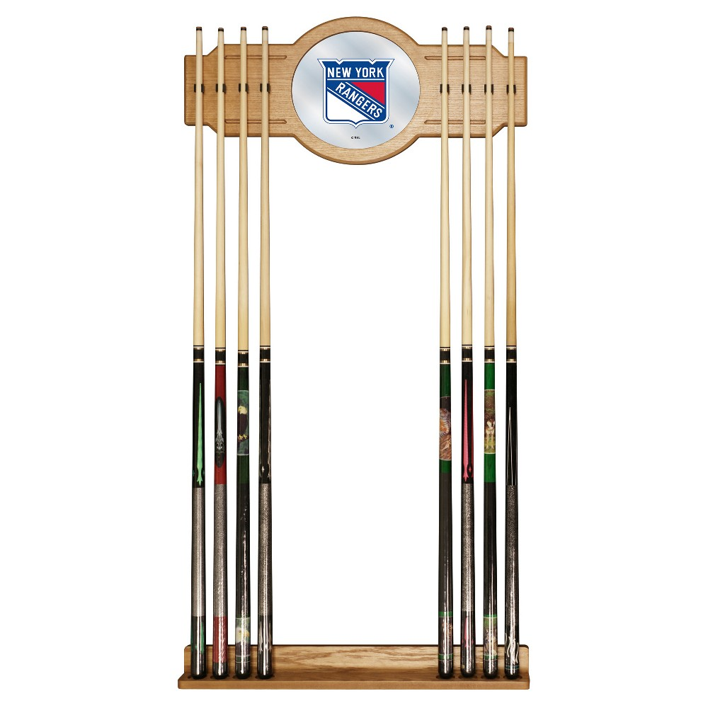 ACE/NORTH HILLS New York Rangers Cue Rack with Mirror