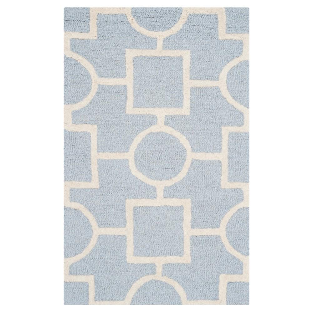 Sumner Accent Rug - Light Blue / Ivory ( 2' 6 X 4' ) - Safavieh, Light Blue/Ivory