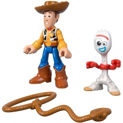 Fisher-Price Imaginext Disney Pixar Toy Story Woody and Forky