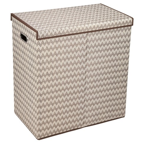 Household Essentials Folding Double Sorter - Brown - image 1 of 4