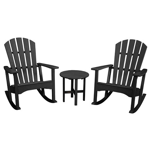 Prime Polywood Rocking Chair 3 Piece Set Ocoug Best Dining Table And Chair Ideas Images Ocougorg
