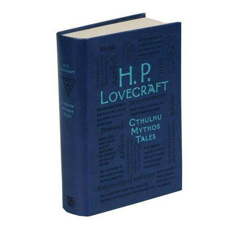 H. P. Lovecraft Cthulhu Mythos Tales - (Word Cloud Classics) by  H P Lovecraft (Paperback) - image 1 of 1