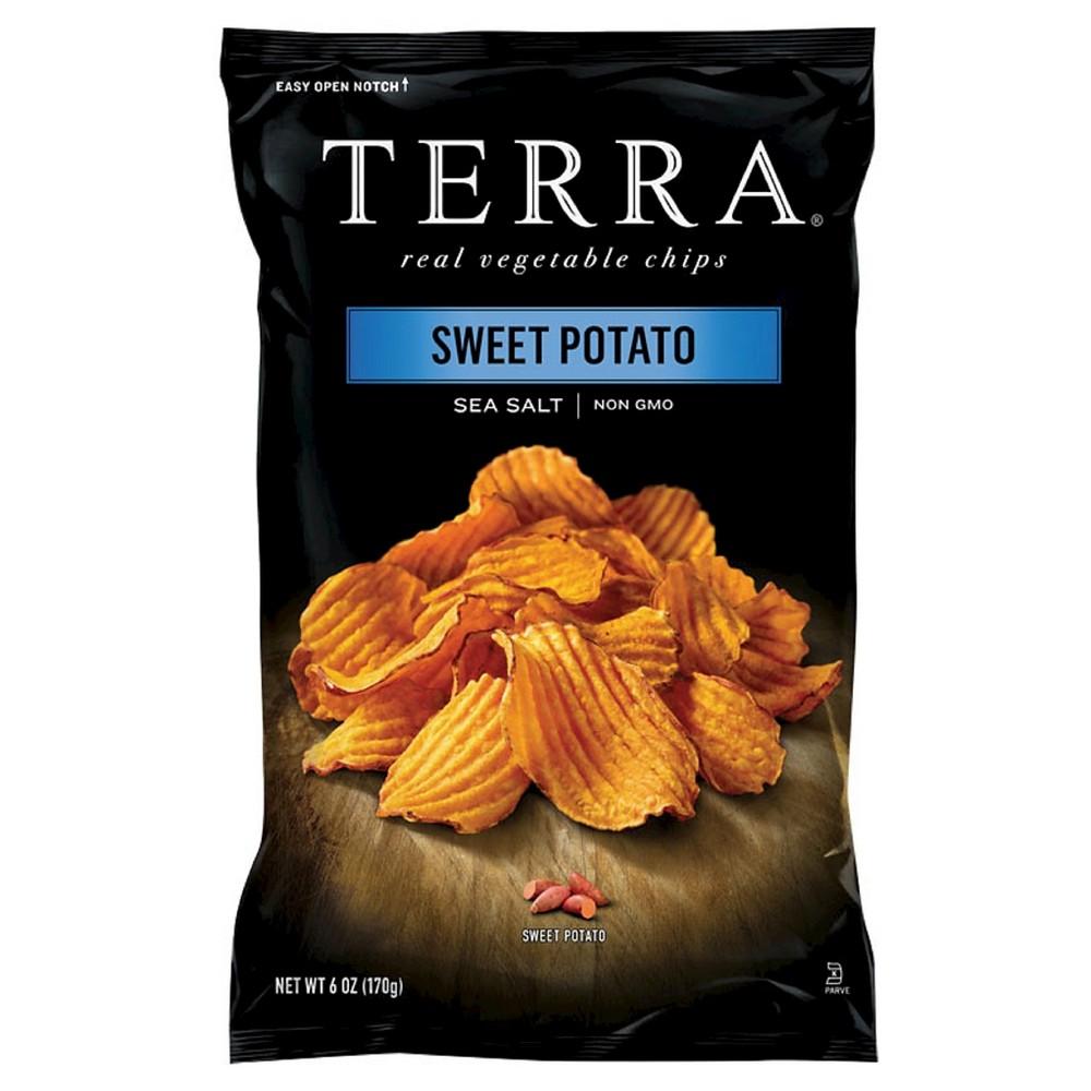 Terra 6oz Vegetable Chips - Sweet Potato Sea Salt