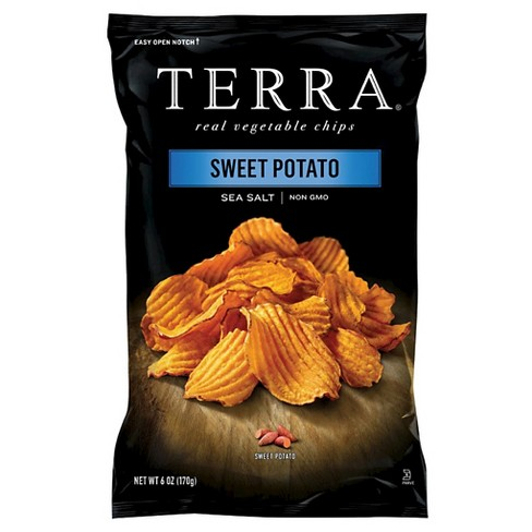 Terra 6oz Vegetable Chips - Sweet Potato Sea Salt - image 1 of 2