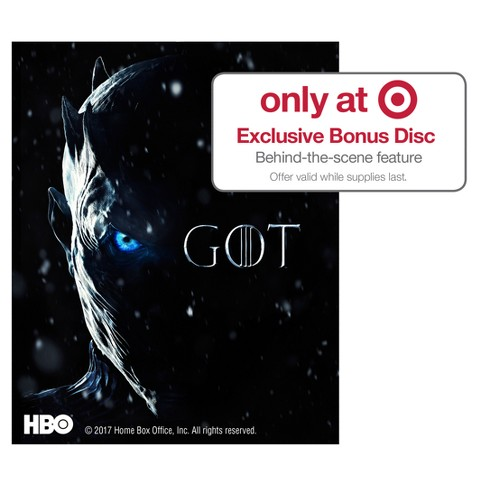 game of thrones the complete seventh season target exclusive blu ray with limited time bonus. Black Bedroom Furniture Sets. Home Design Ideas