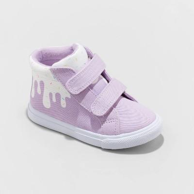 Toddler Girls' Nonie Apparel Sneakers - Cat & Jack™ Purple