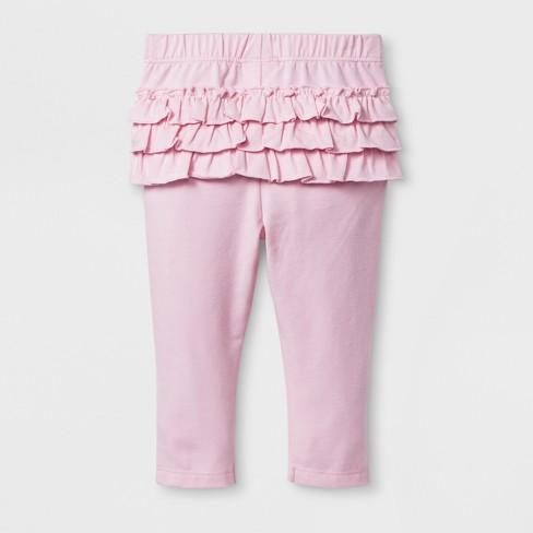e4546cca25f25 Baby Girls' Leggings - Cat & Jack™ Pink Newborn : Target