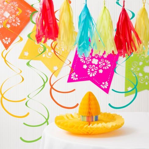 Serape Fiesta Decorations Kit