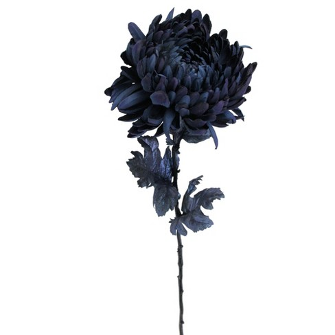 "Allstate Floral 30"" Deepest Indigo Artificial Silk Floral Pick - image 1 of 1"