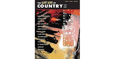 The Giant Book of Country Sheet Music (Paperback) - image 1 of 1