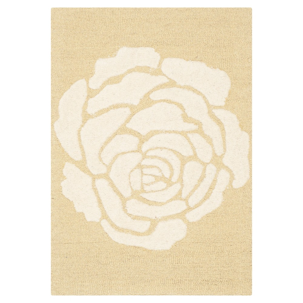 Safavieh Connor Accent Rug - Light Gold / Ivory ( 3' X 5' )
