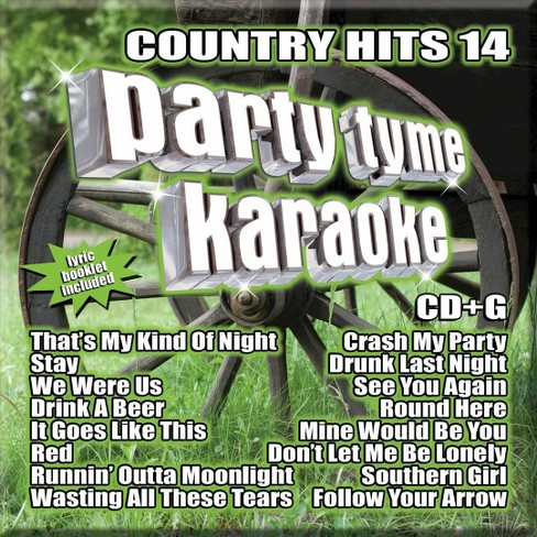Party tyme karaoke - Party tyme karaoke:Country hits 14 (CD) - image 1 of 1