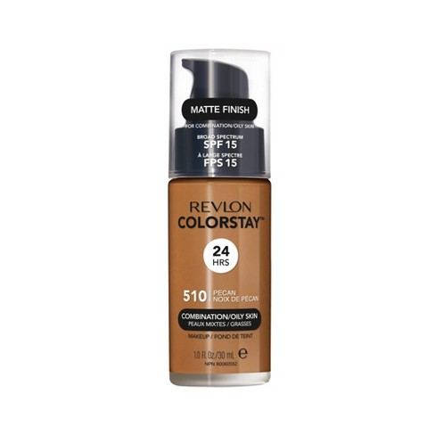 Revlon ColorStay Makeup Foundation for Combination/Oily Skin SPF 15 - Deep Tan Shades - 1 fl oz - image 1 of 6