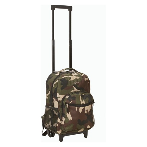 "Rockland 17"" Frame Backpack - Camo - image 1 of 4"