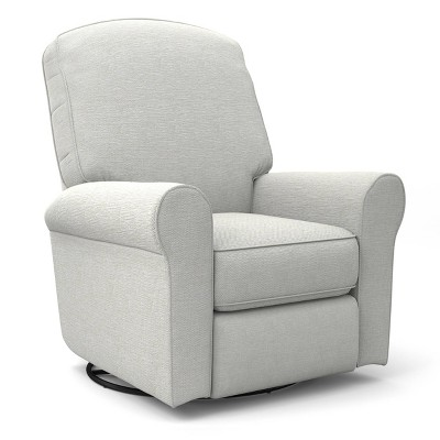Best Home Furnishings Joaquin Swivel Glider Recliner - Snow