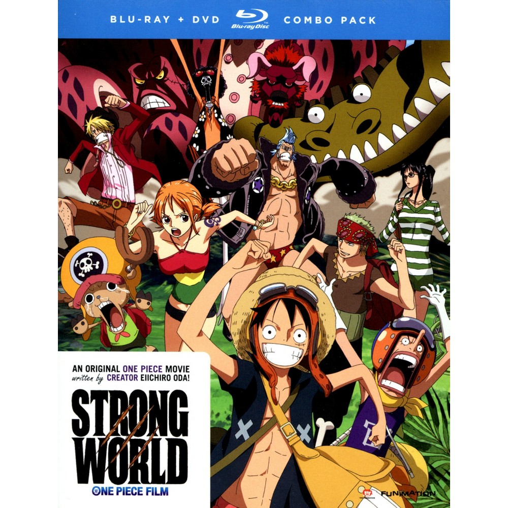 One Piece:Strong World (Bd/Dvd Combo) (Blu-ray)