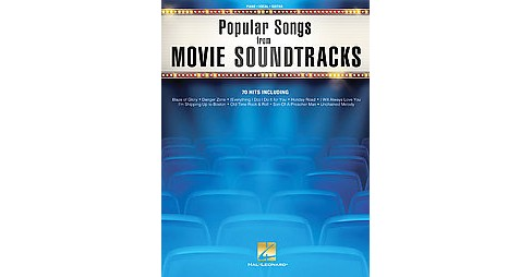 Popular Songs from Movie Soundtracks : Piano - Vocal - Guitar (Paperback) - image 1 of 1