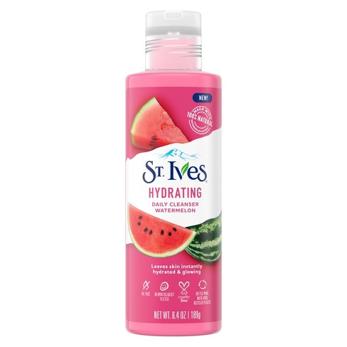 St. Ives Hydrating Watermelon Daily Cleanser - 6.4oz - image 1 of 4