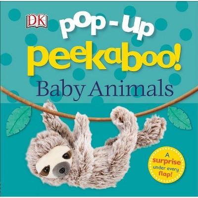 Pop-Up Peekaboo! Baby Animals - (Board Book)