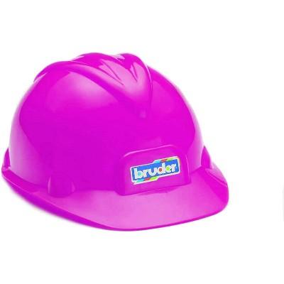 Bruder Construction Worker Hard Hat Pink Helmet