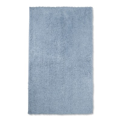 34 x20  Tufted Spa Bath Rug Sky Blue - Fieldcrest®