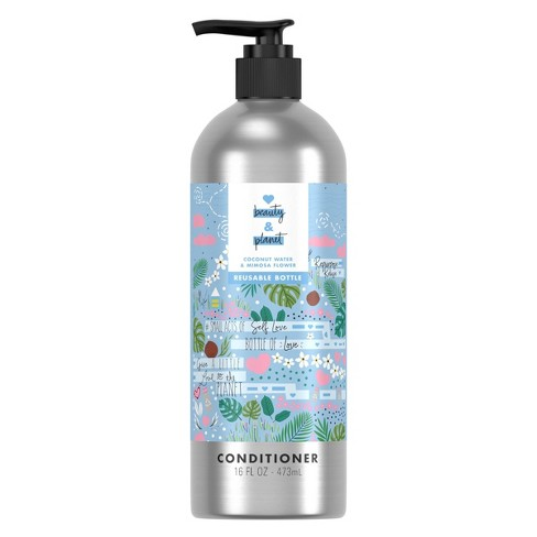 Love Beauty and Planet Coconut Water & Mimosa Flower Conditioner in Reusable Pump Bottle - 16 fl oz - image 1 of 4