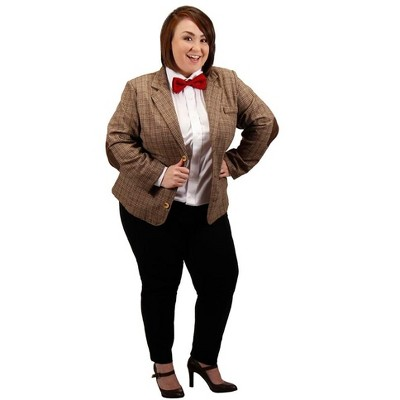Elope Doctor Who 11th Dr Women's Costume 1 Plus Size Jacket