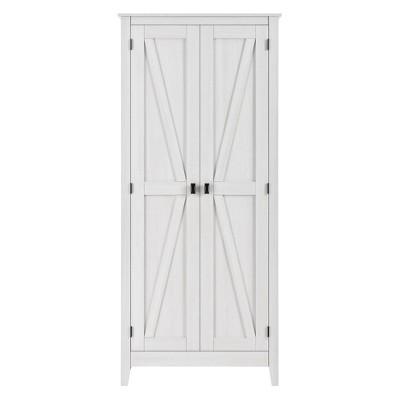"71.9"" Brookside Wide Storage Cabinet Sandy Pine - Room & Joy"