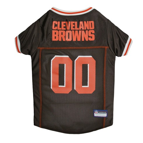 cleveland browns home jersey