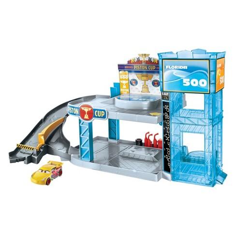 Disney Pixar Cars Florida 500 Racing Garage Playset Target