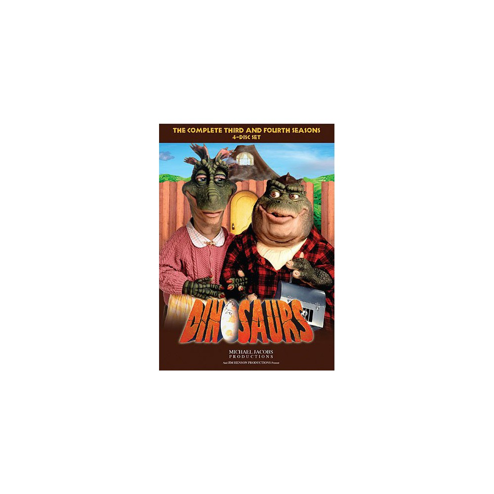 Dinosaurs:Complete Third & Fourth Sea (Dvd)