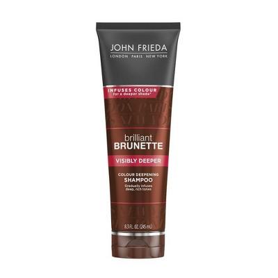 John Frieda Brilliant Brunette Visibly Deeper Shampoo - 8.3 fl oz