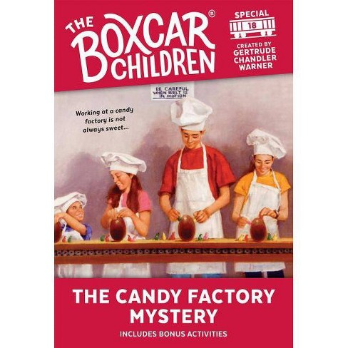 The Candy Factory Mystery - (Boxcar Children Mystery & Activities Specials)  (Paperback)