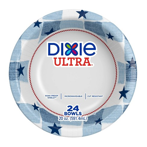 Dixie Ultra Disposable Bowls - 24ct/20oz - image 1 of 4
