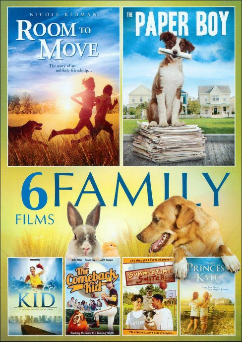 6 Film Family Pack (DVD) - image 1 of 1