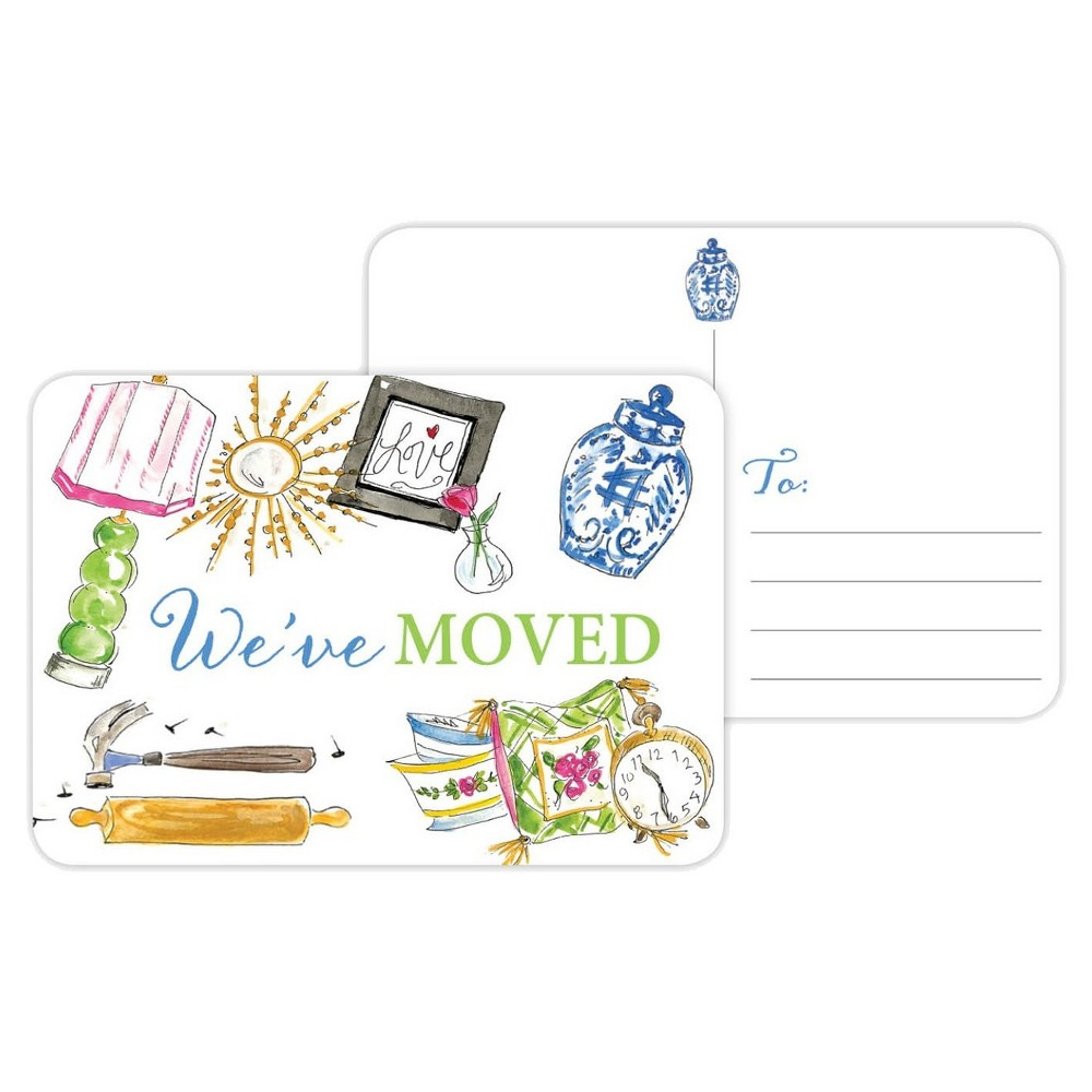 Post Cards - Round the House, White
