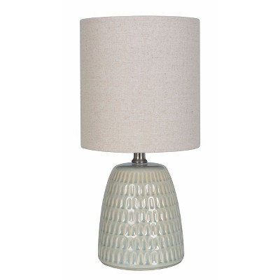 Textured Ceramic Table Lamp Pale Green (Lamp Only)- Threshold™
