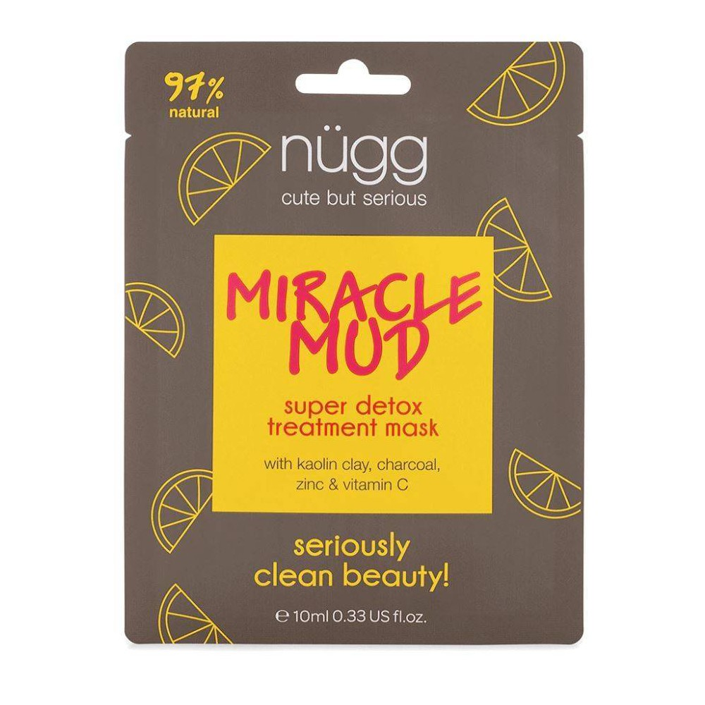 Image of nügg Miracle Mud Skin Detox Mask - 0.33 fl oz