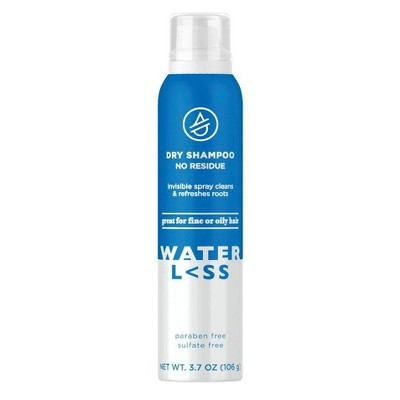 Waterless No Residue Dry Shampoo - 3.73oz