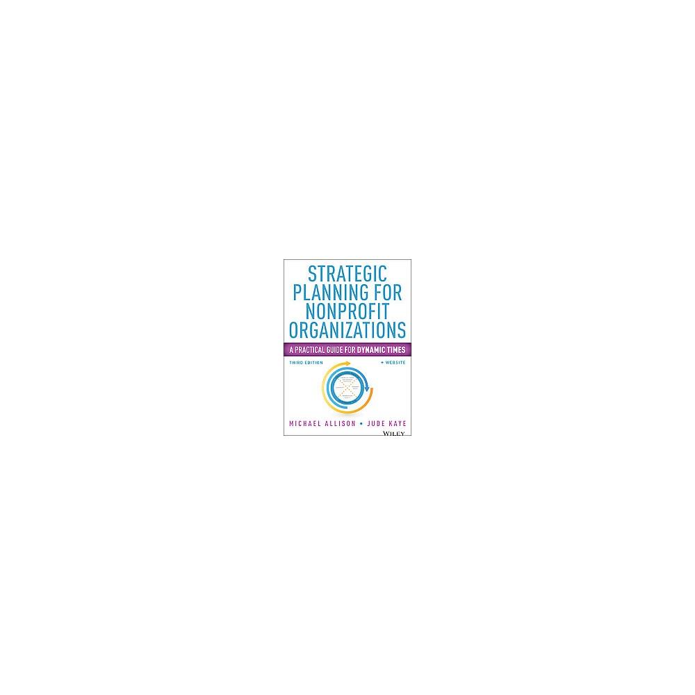 Strategic Planning for Nonprofit Organiz ( Wiley Nonprofit Authority) (Paperback)