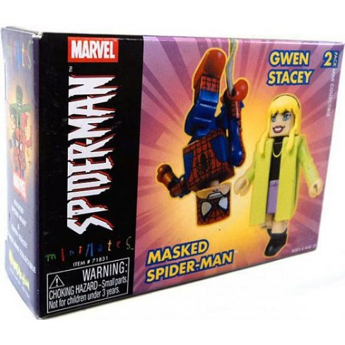 Minimates Masked Spider-Man and Gwen Stacy Minifigure 2-Pack - image 1 of 1