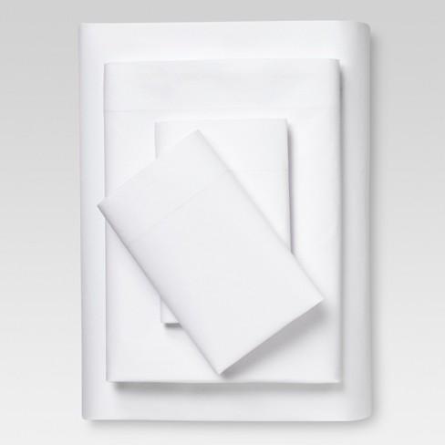 Vintage Wash Solid Sheet Set - Threshold™ - image 1 of 1
