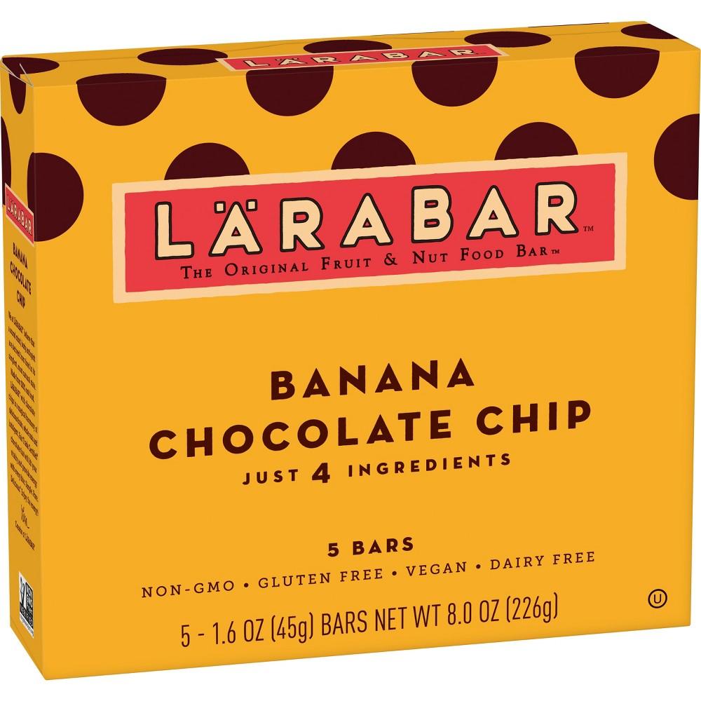 Larabar Banana Chocolate Chip - 5ct 8oz